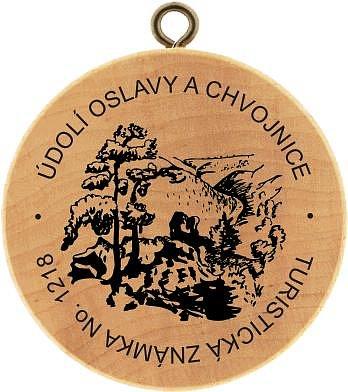 Údolí Oslavy a Chvojnice.