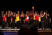 Brno Gospel Choir na jednom z vystoupení