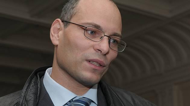 Vlastimil Havlíček u brněnského soudu.