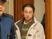Van Lung Chu před brněnským soudem.