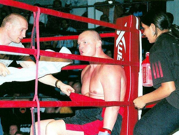 Boxer Milan Konečný.