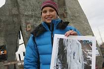 Účastnice Světového poháru v drytoolingu Lucie Hrozová suverénně vyhrála oba závody.