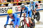 Poslední den světového šampionátu v dráhové cyklistice v nizozemském Apeldoornu.