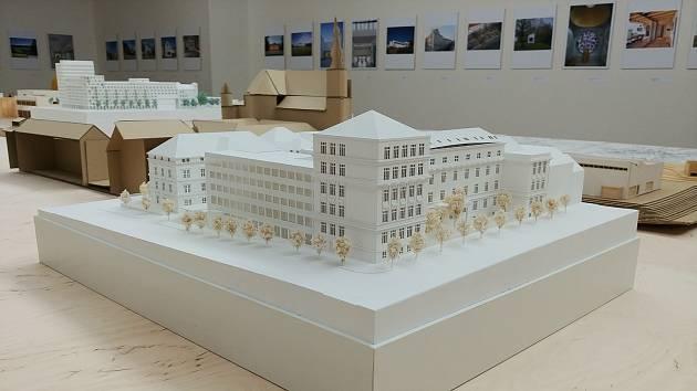 Jedinečné zmenšeniny. Návštěvníci Domu umění uvidí architektonické modely