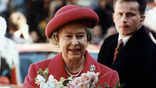 Návštěva královny Alžběty II. v Brně v roce 1996.