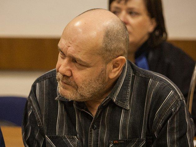 Jan Hlaváč u soudu.