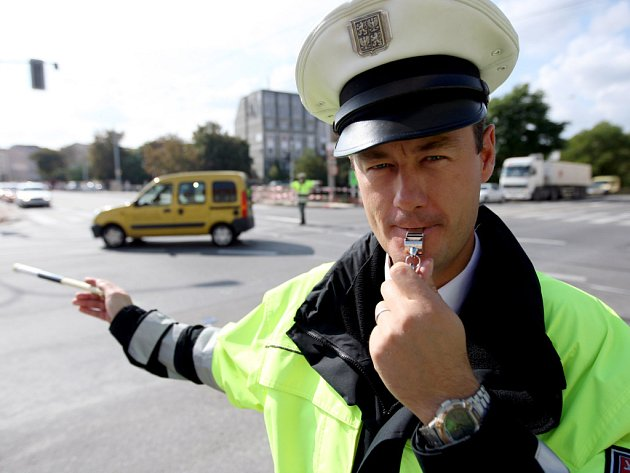 Soutěž jihomoravských dopravních policistů - Regulovčík roku 2008.