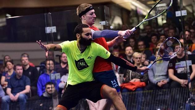 Brněnský squashista Daniel Mekbib získal svůj druhý titul z mistrovství České republiky.