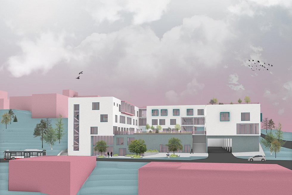 Studenti navrhli onkologické centrum