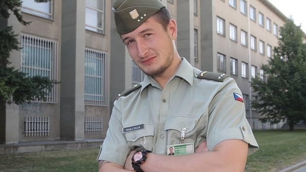 Četař Robert Pacík se zúčastnil dvanáctidenního výcviku cizinecké legie ve Francouzské Guyaně.