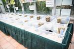 Slavíky, papoušky, morčata a další si mohli návštěvníci výstavy i koupit.