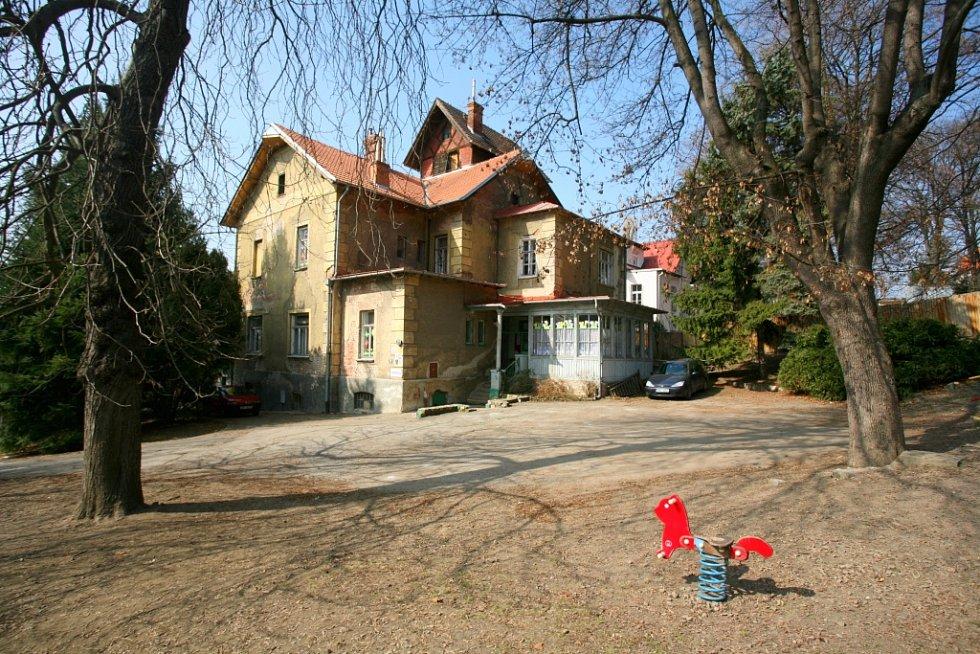 Arnoldova vila v Brně.