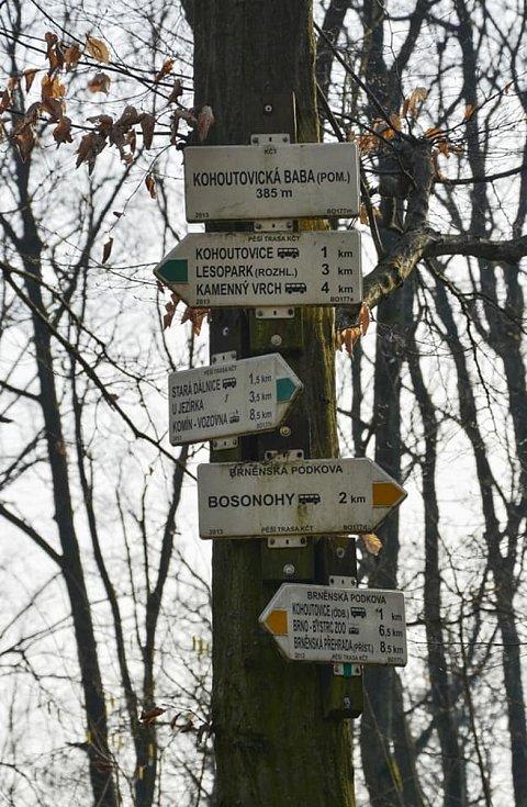 Putování z Kohoutovic do Bosonoh a Starého Lískovce bylo plné kouzelných detailů i neobvyklých pohledů.