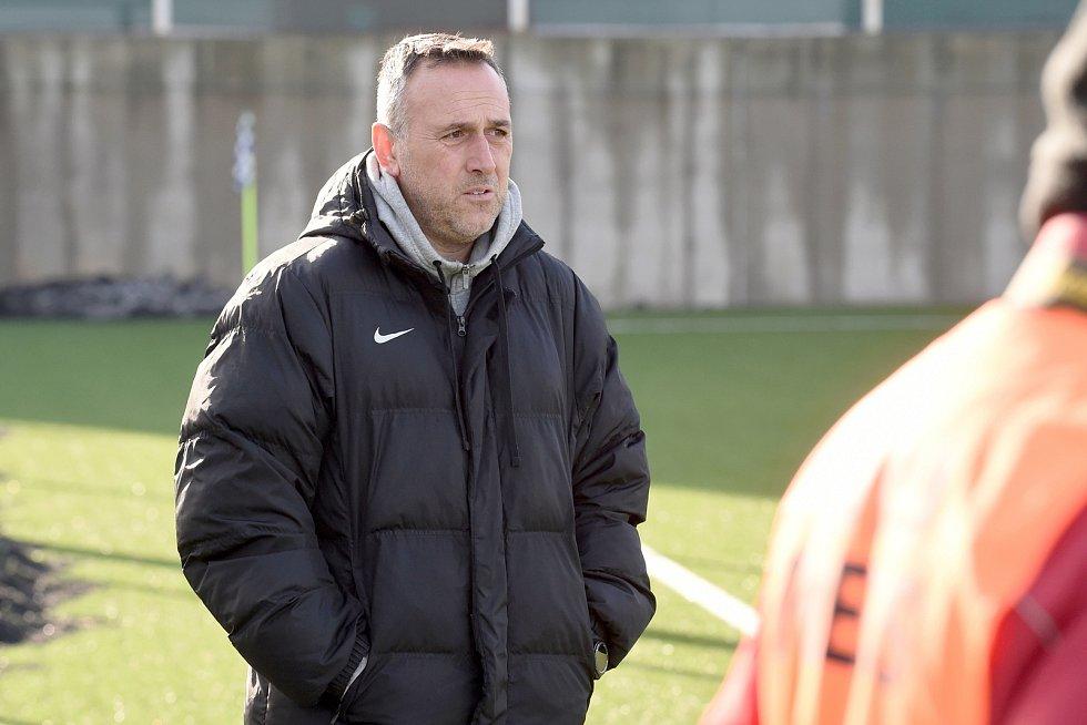 Brno 1.2.2020 - trenér FK Blansko Zbyněk Zbořil