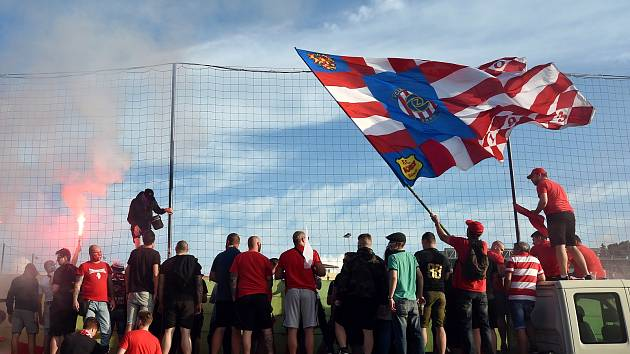 Rivalita. Brno patří do druhé ligy, hlásí Líšeň na Twitteru