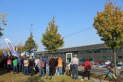 Podnik CommScope přesouvá výrobu antén do Číny.