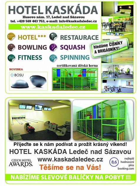 Hotel Kaskáda, Ledeč nad Sázavou