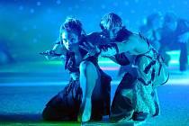 Rondo hostilo lední show Cirque de Glace.