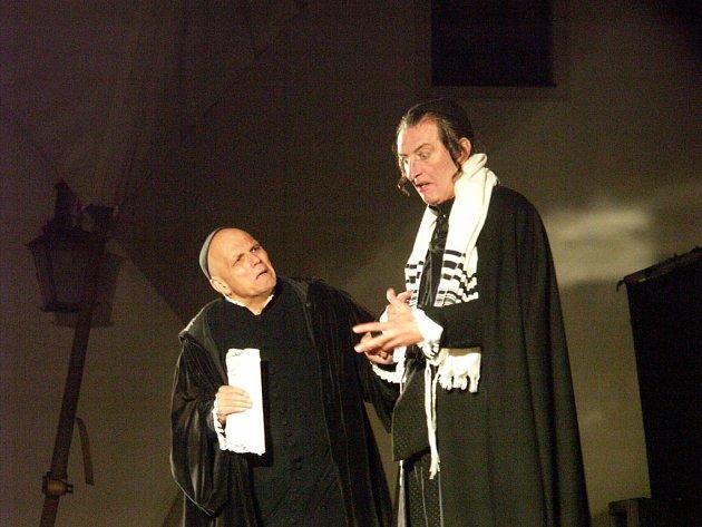 Roli lichváře Shylocka si zahraje Bolek Polívka.