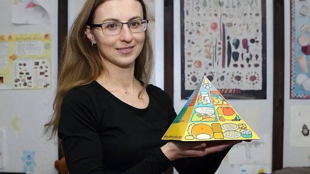 Nutriční terapeutka Jana Spáčilová.