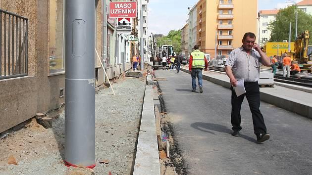 Ulice Milady Horákové.