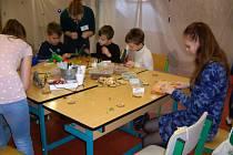 Na Střední zahradnické škole Rajhrad se uskutečnila výstava Kouzelné Vánoce.