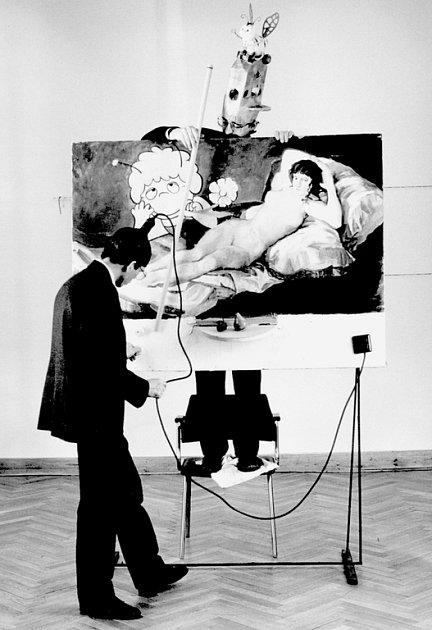 Dadaistická koláž - Biene Maja