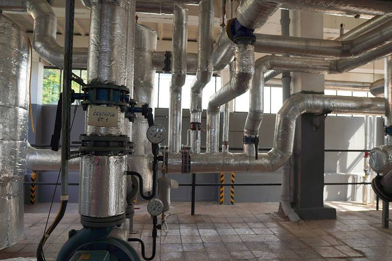 Teplárny Brno a jejich technika. Ilustrační foto.