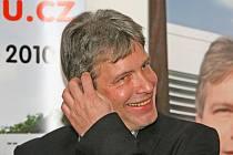 Lídr vítězných sociálních demokratů Roman Onderka.