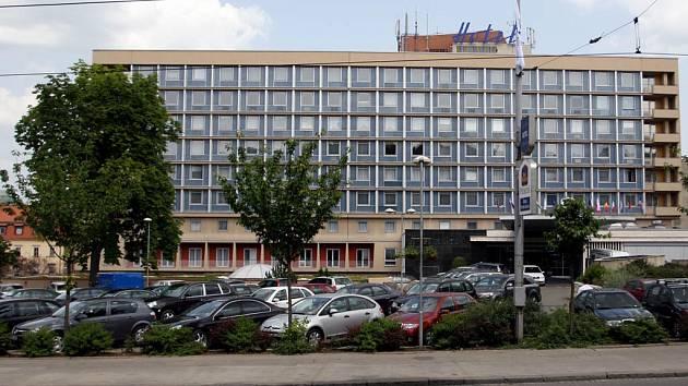 Hotel International patří svým moderním vzhledem mezi významné objekty brněnského centra.