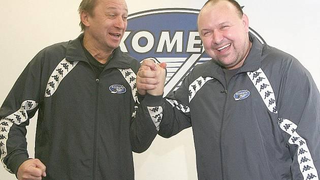 Vladimír Jeřábek a Ladislav Lubina.