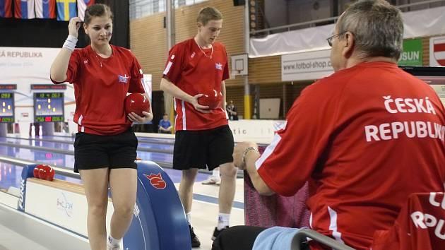 V brněnské Městské hale Vodova vypuklo mistrovství světa v kuželkách.
