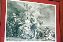 Rokokový grafický kabinet dočasně přesídlil z rájeckého zámku do Moravské galerie v Brně.