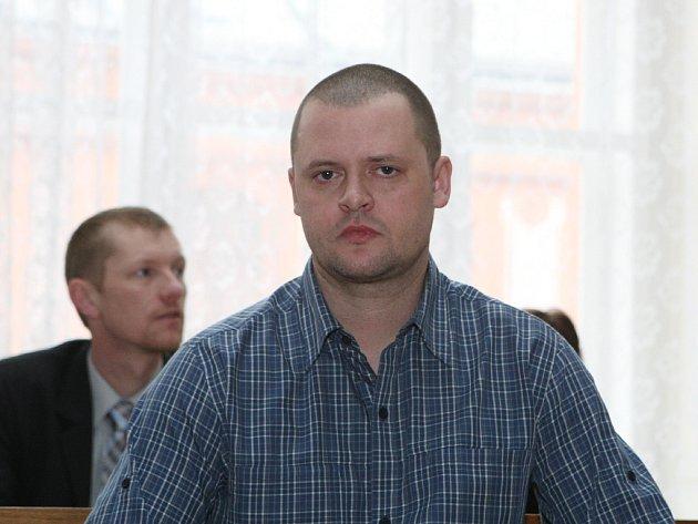 Robert Skalík  u brněnského soudu.