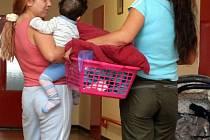 V Domově pro matky s dětmi Zvonek mohou žít maminky do sedmi let dítěte