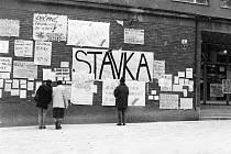 Stávka 1989 FF MU - Kino pravdy a lásky
