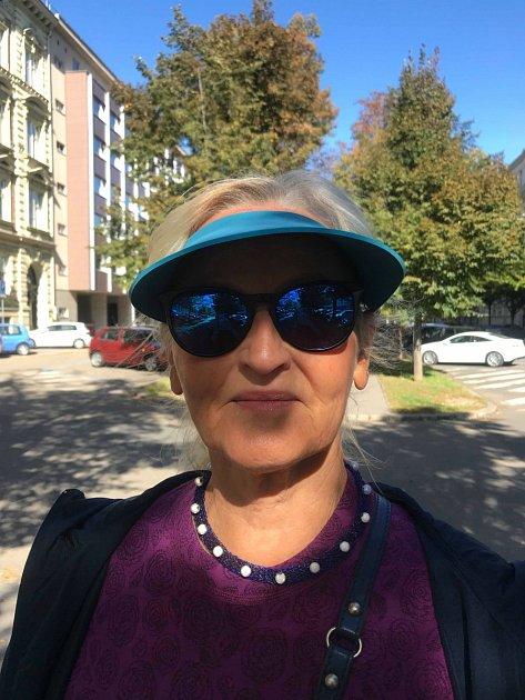 Blanka Šperková, 71let, Brno, důchodkyně, výtvarnice.
