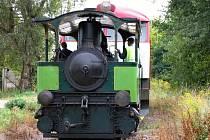 Lokomotiva Caroline - ilustrační foto.