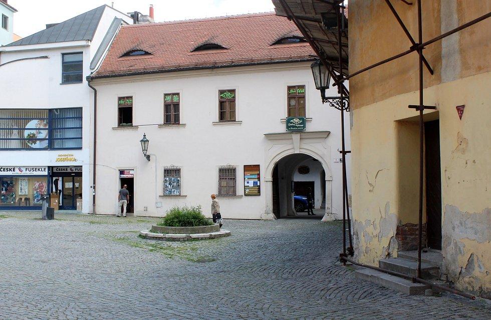 Římské náměstí a Františkánská ulice v Brně.