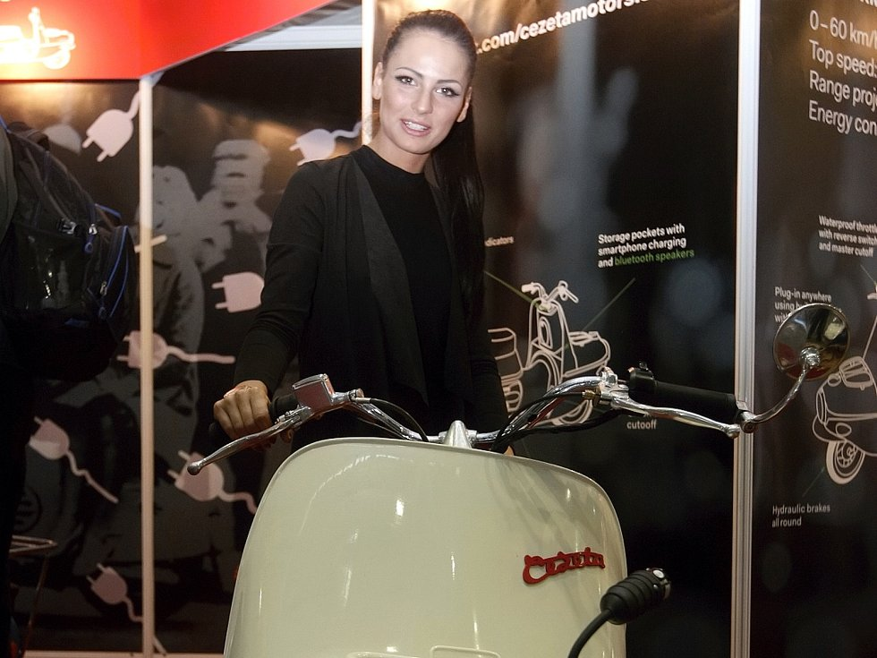 Motosalon 2016 na brněnském výstavišti.