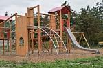 Park Sadová v brněnské části Sadová, který vznikl poté, co s ním jeho navrhovatelka uspěla v participativním rozpočtu v roce 2018.