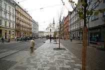 Jilmy zdobí Joštovu ulici v Brně.