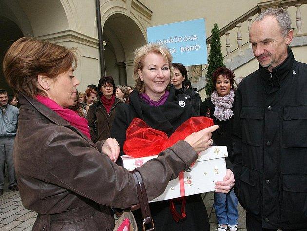 Odboráři na magistrátě v Brně.