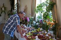 Brněnští zahrádkáři ukazují více než tři desítky druhů ovoce a zeleniny, které vypěstovali.