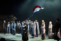 Závěrečná píseň muzikálu Bídníci (Les Misérables).
