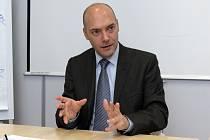 Viceprezident brněnské pobočky firmy IBM Jean Monnot.