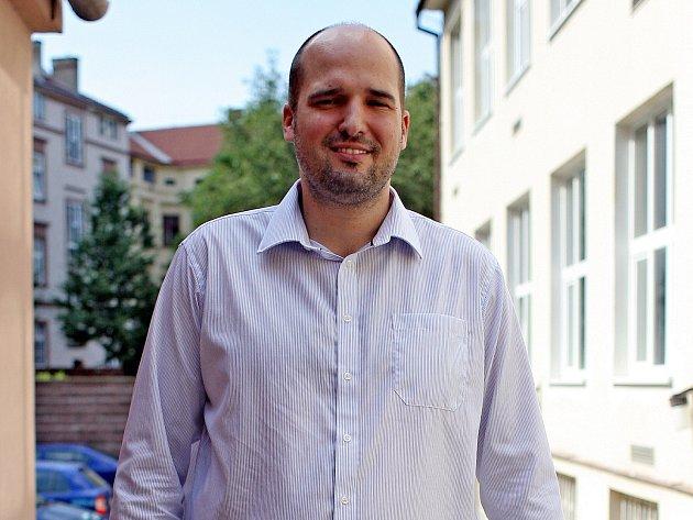 Manažer basketbalového Mmcité Brno Jakub Koudelka.