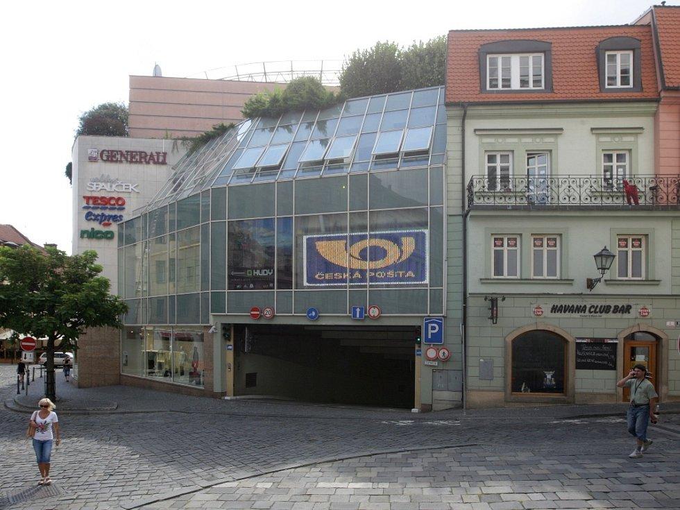 Nákupní a zábavní centrum Velký Špalíček v Brně.