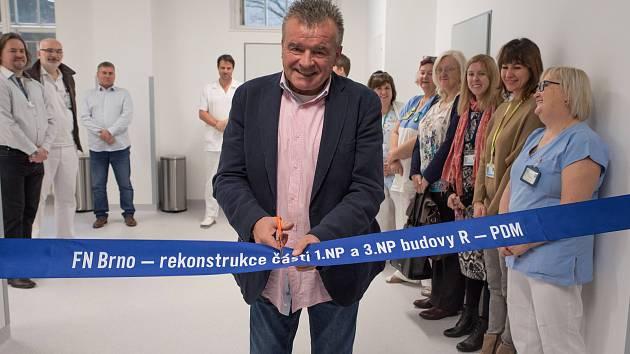 V brněnské Dětské nemocnici otevřeli nové prostory v budově R.