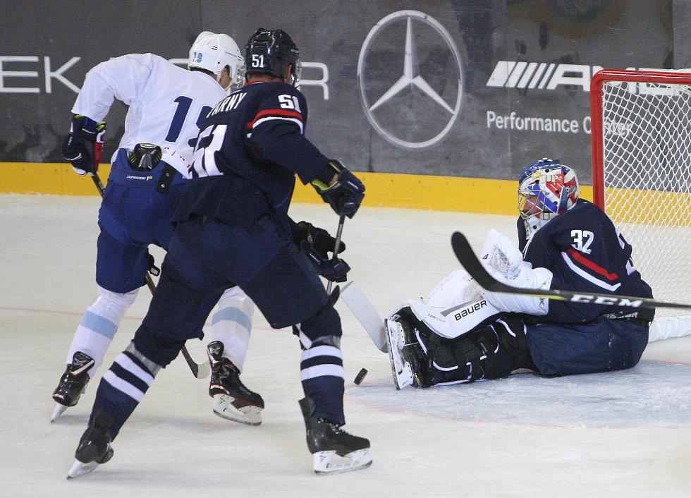 Brankář Marek Čiliak nastoupil proti Kometě i v dresu bratislavského Slovanu.